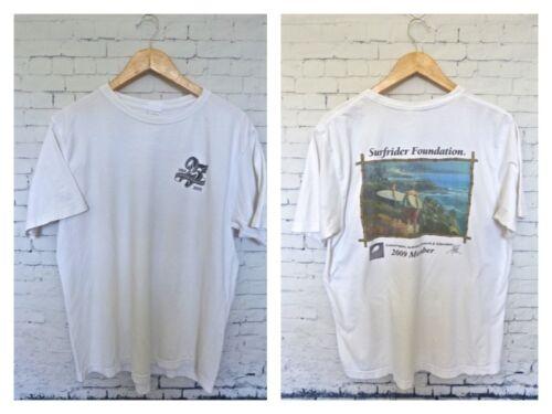 Surfriders Foundation 2009 Mens Organic T-Shirt Size L