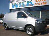 2011 Volkswagen TRANSPORTER T5 T28 102 TDI SWB Van *SILVER* Manual Medium Van