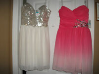 Short Strapless Junior Prom Dresses for Sale