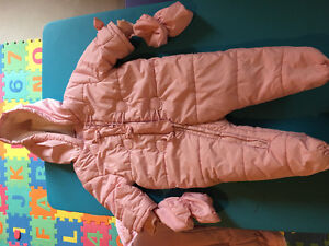 Baby girl snow jackets