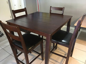 Dining Table with 4 chairs included Revelstoke British Columbia image 2
