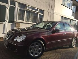 Mercedes Benz C220 CDI fully loaded /1 YEAR MOT/FULL SERVICE
