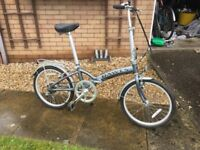 Dawes Folding Bike in mint condition