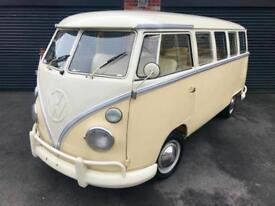 1963 Volkswagen VW T1 split screen bus. px swap