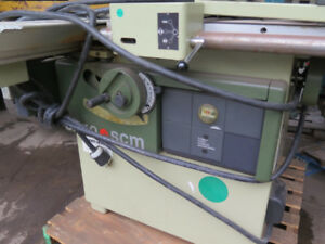 SCM 4' Sliding Table Saw