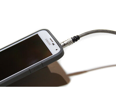 KnuKonceptz 3.5mm (1/8) to Stereo RCA Audio Cable 3' 1M fits iPhone 6 Samsung S5