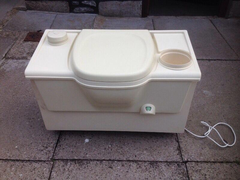 Thetford Cassette Toilet : Thetford cassette toilet porta potti in aberdeen gumtree