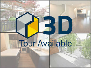 2 bedroom townhome with LIVE/WORK space and built-in A/C