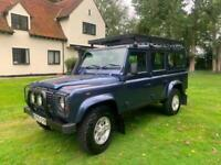 2005 Land Rover Defender County Station Wagon Td5 (9 seater) ESTATE Diesel Manua