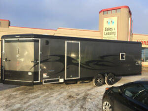 2018 TNT Trailer 8.5X28 ENCLOSED SNOWMOBILE/ UTV TRAILER