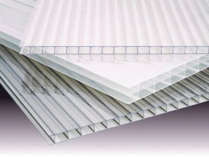 8mm Twinwall Polycarbonate - Green House Best Choice