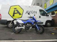 Superbyke RMR 125cc Supermoto Motorcycle Motorbike Enduro