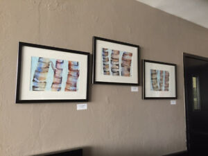 BIRCH PAINTINGS (original watercolour)
