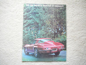 1966 Corvette Sting Ray Sales Brochure