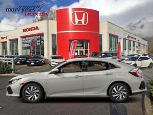 2017 Honda Civic Hatchback LX  -  Heated Seats
