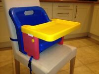 Travel booster seat/high chair