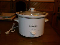 Bravetti 3 Quart Slow Cooker