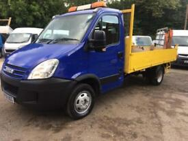 "Iveco Daily 50C15,3.0 (4350) LWB,ONE OWNER,DRW,SWING LIFT CRANE,""TIPPER""!"