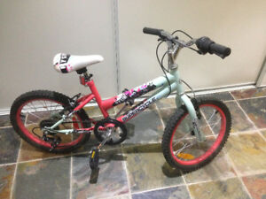 BICYCLE FLY GIRL SUPERCYCLE FOR UP TO 9 YEARS OLD GIRLS.
