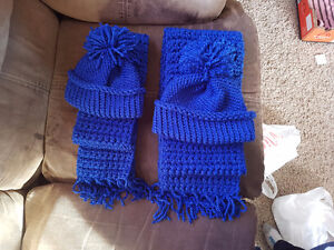 Scarf and toque sets Prince George British Columbia image 1