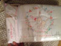 Baby cot crib full bedding and bumper sett BRAND NEW