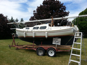 sailboat 20 ft halman