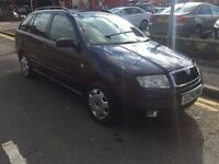 2004/04 SKODA FABIA COMFORT 16V..BLUE..1 PREVIOUS OWNER..LOW MILEAGE..BARGAIN!!