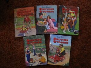 BEDTIME STORIES, 5 vol set, Uncle Arhtur's BOOKS