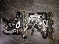 Men's rollerblades size 11 good condition