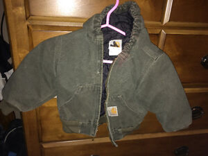 Carhartt Insulated Work Jacket Size 3