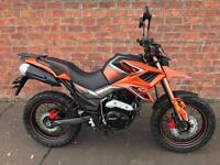 NEW Euro4 Lexmoto Tekken 125 learner legal own this bike for only £10.60 a week