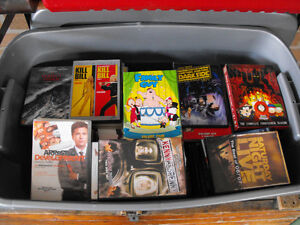Lg Tote of DvD's