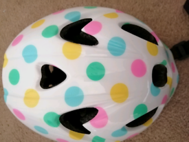 Girls toddler bicycle /scooter helmet