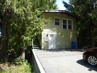 Cozy two  bedroom home in shawnigan lake