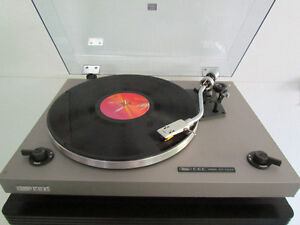 White CEC Turntable/Record Player