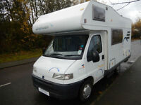 Hymer Swing 544K 4 Berth 4 Travelling Seatbelts End Kitchen Motorhome For Sale