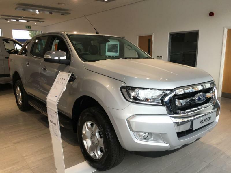 new ford ranger 2 2tdci 160ps 4x4 2016my limited in silver sat nav camera in hinckley. Black Bedroom Furniture Sets. Home Design Ideas
