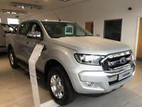 NEW Ford Ranger 2.2TDCi 160PS 4x4 2016MY Limited in Silver + Sat Nav & Camera