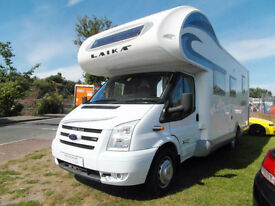 Laika X694 - 6 Berth - Rear Fixed Bed - Cab Aircon - Cruise Control