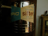 antique epic triple screen sifter impecable