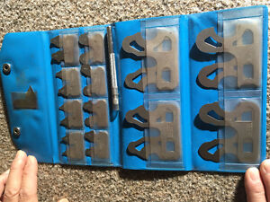 "25 pieces 1/64"" - 17/64"" 9/32"" - 1/2""Range Radius Gauge Set ( By"