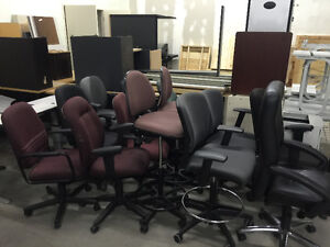 ALL KINDS/STYLES/COLOURS OF OFFICE CHAIRS, DESKS AND CABINETS