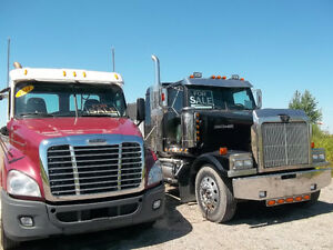 2011 FL Cascadia Day Cabs 500 hp 18 spd - Bendix Air Disc Brakes Edmonton Edmonton Area image 15