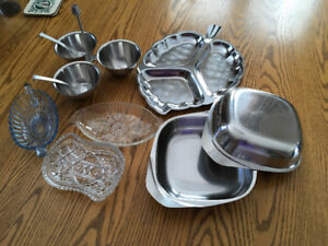 Old Serving dishes