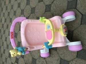 POUSSETTE-TROTTEUR FISHER-PRICE