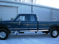 1996 Ford F-250 xlt ext cab truck