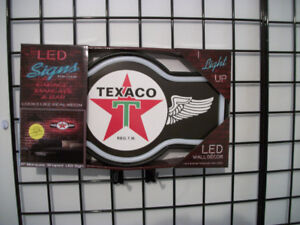 New Texaco LED Rope Neon Sign