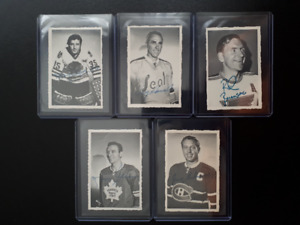 1970 OPC LOT OF DECKLE EDGE HOCKEY CARDS