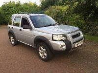 Land Rover Freelander adventura 2ltr td4 2006 registered BMW Diesel engine