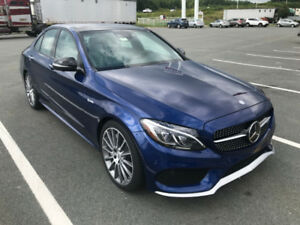 2017 Mercedes AMG C 43 Sedan - Only 12,000 kms Lease takeover